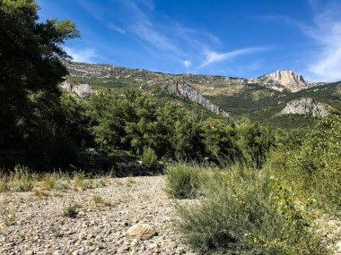 Overview of the Gorges du Verdon area