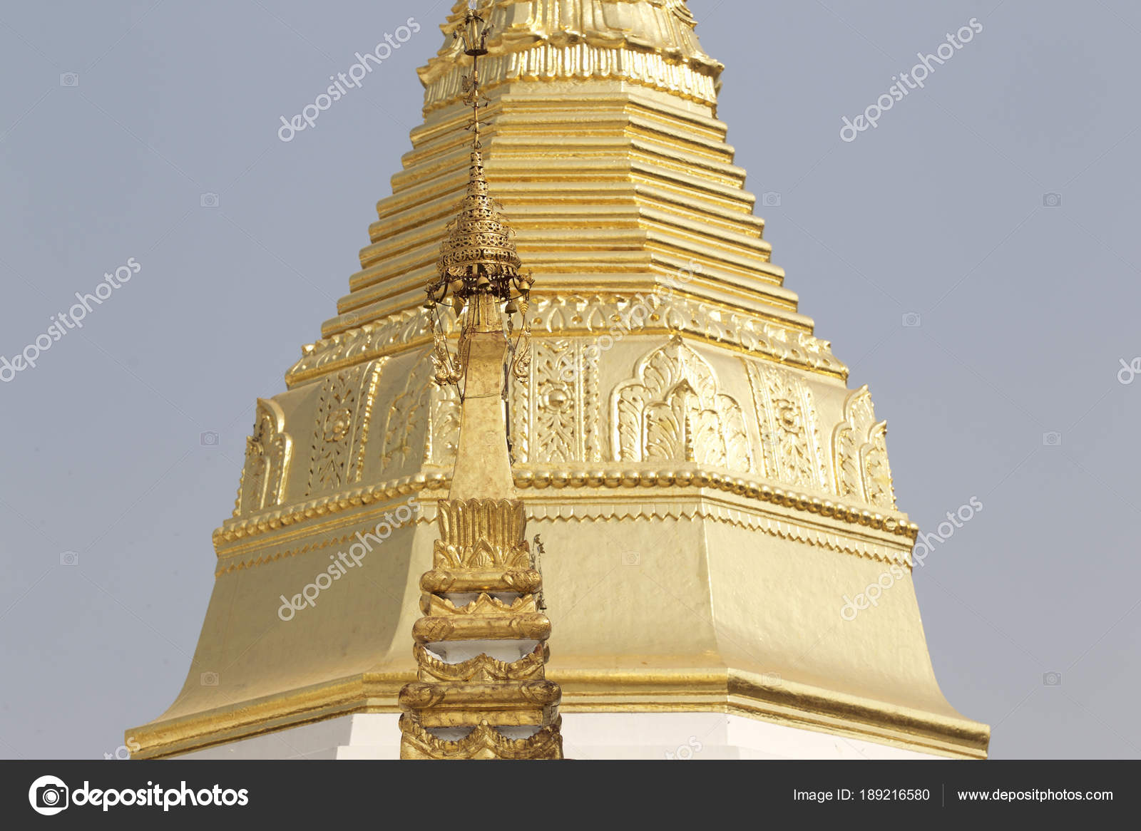 Buddhist Temple Complex Shwedagon Is A Historical Symbol Of Buddhism