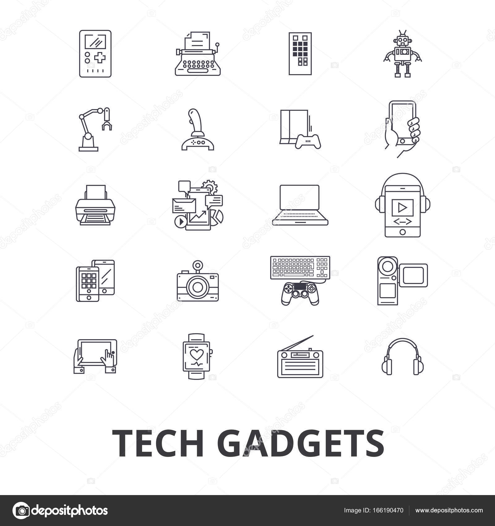 Tech gadgets, technology, electronics, laptop, tablet, camera ...