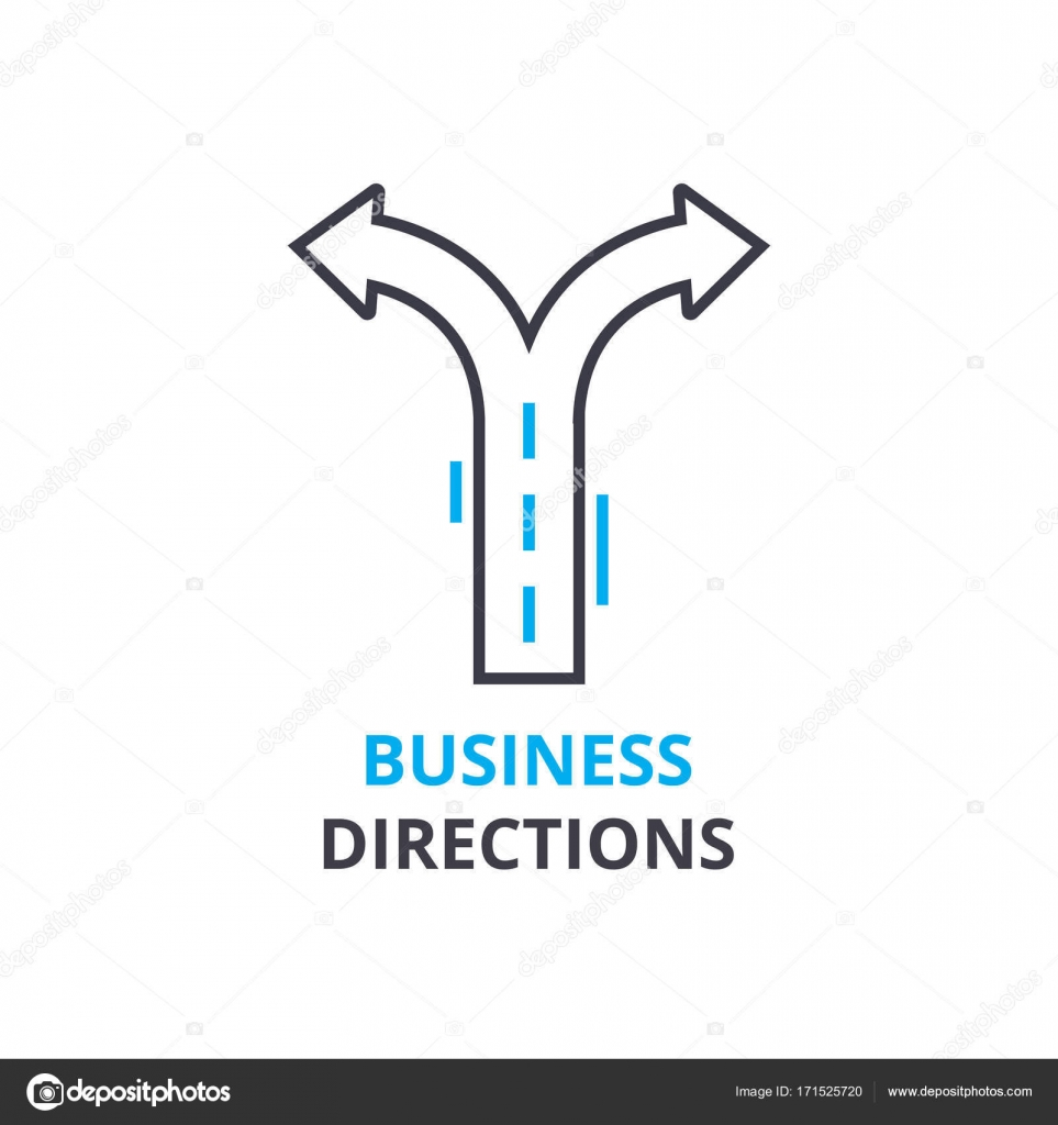 Business directions concept outline icon linear sign thin line business directions concept outline icon linear sign thin line pictogram logo flat illustration vector vector by iconsgraph ccuart Image collections