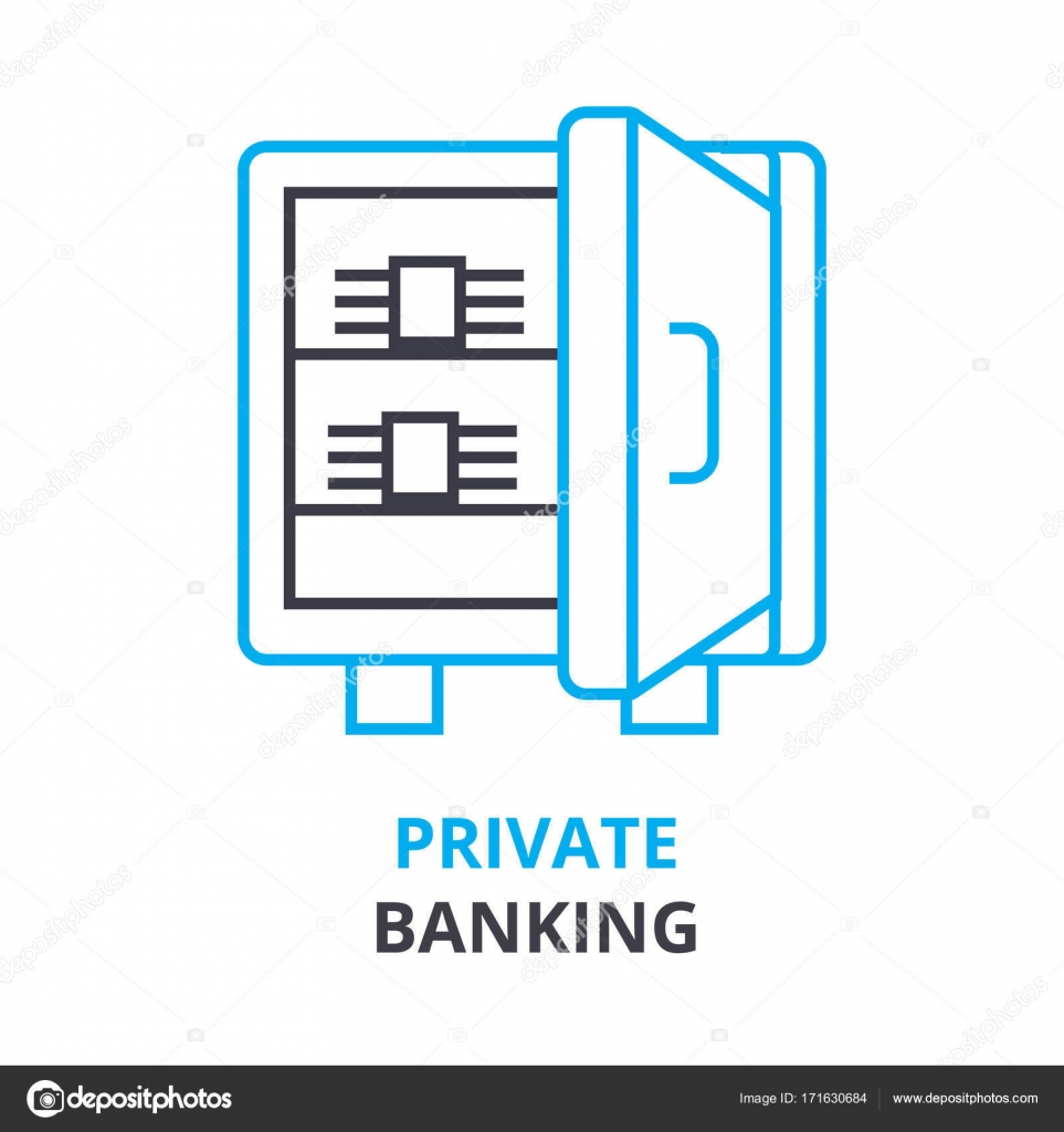Private banking concept outline icon linear sign thin line private banking concept outline icon linear sign thin line pictogram logo ccuart Image collections