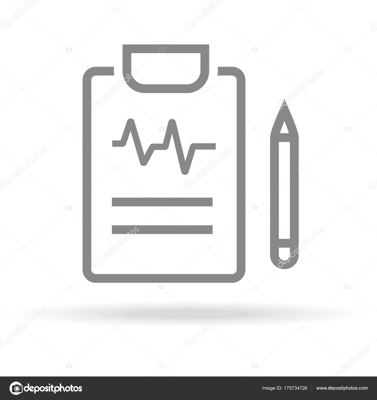 Diagnostic Medical Research Icon In Trendy Thin Line Style Isolated