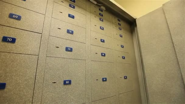 Bezpečné schránky, pokoj s bezpečnostní schránku, trezor