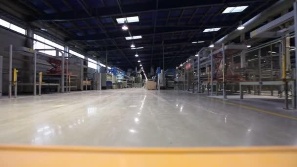 Fabbricazione di piastrelle in ceramica interni industriali