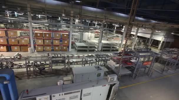 Interni industriali produzione di piastrelle in ceramica interni