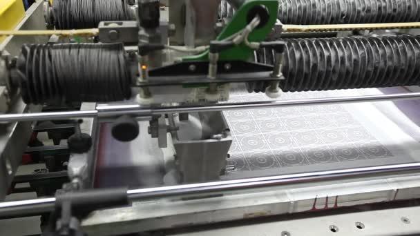 Tisk vzorované keramických dlaždic, vzor na keramické dlaždice. Průmyslové vnitřní, indors