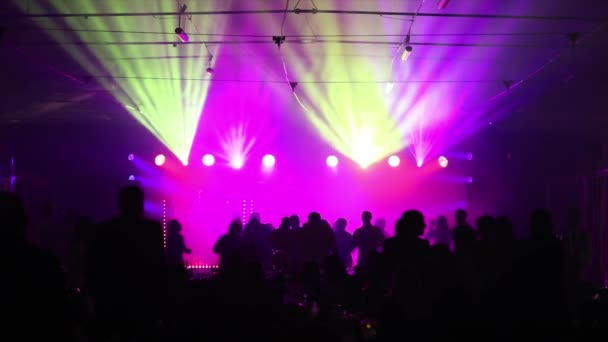 The stage lighting in the hall, the stage light on the counter, metal stand for stage light, the view from below