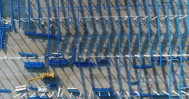 Stavební pohled shora, stavby, stavební firma, stavební proces budování