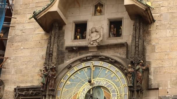 Orloj v Praze, Česká republika, na Staroměstské náměstí. Pražský orloj