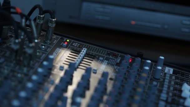 Hang regisztráló készülék berendezés, professzionális menetíró készülék, Dj control panel