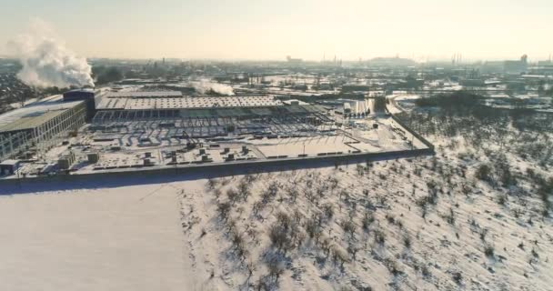 Konstrukce moderní továrně bezdotykového náhledu, velké železné konstrukce, moderní továrně bezdotykového náhledu, výstavba moderního závodu nebo skladu, moderní průmyslové exteriér