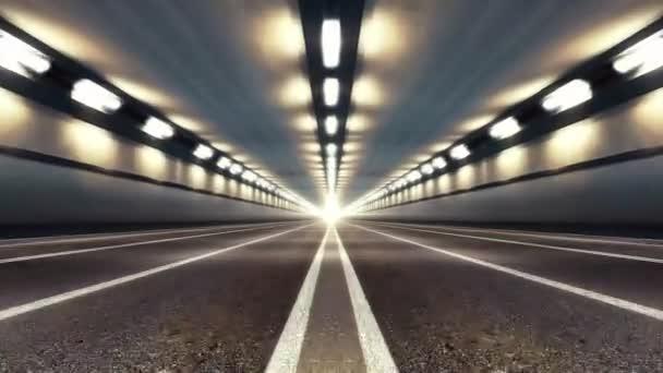 Abstraktní rychlosti dálniční silniční tunel