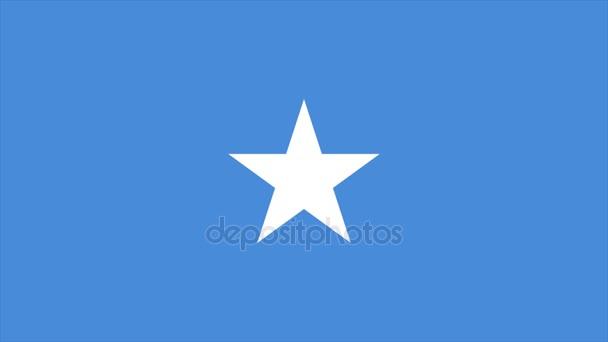 Somalia Flag Transition 4K