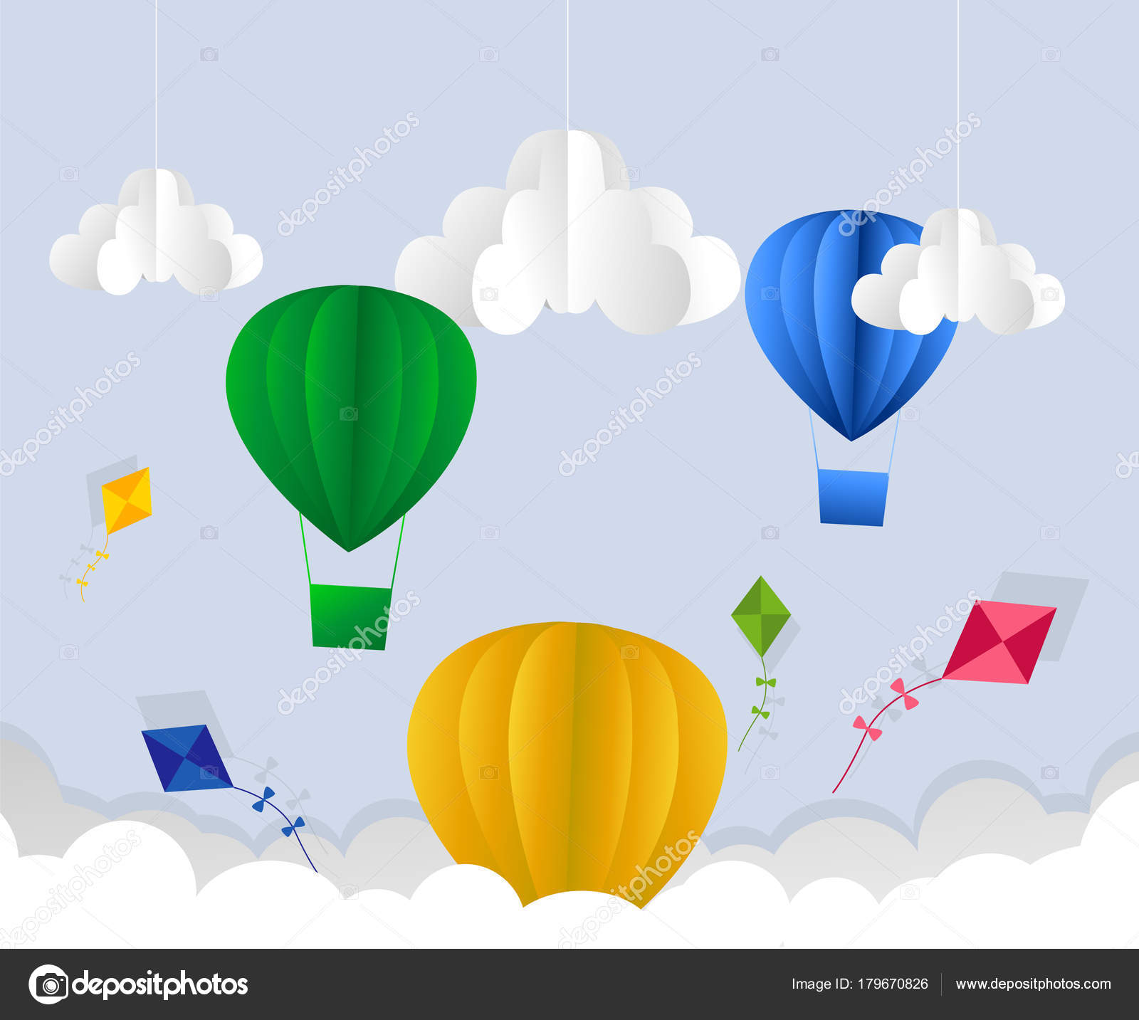 Origami Tutorial: Hot Air Balloon (Yuri & Katrin Shumakov)|Hello ... | 1433x1600