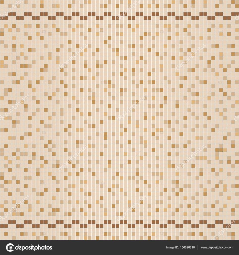 Mosaico di piastrelle in ceramica beige in piscina - Piastrelle in mosaico ...