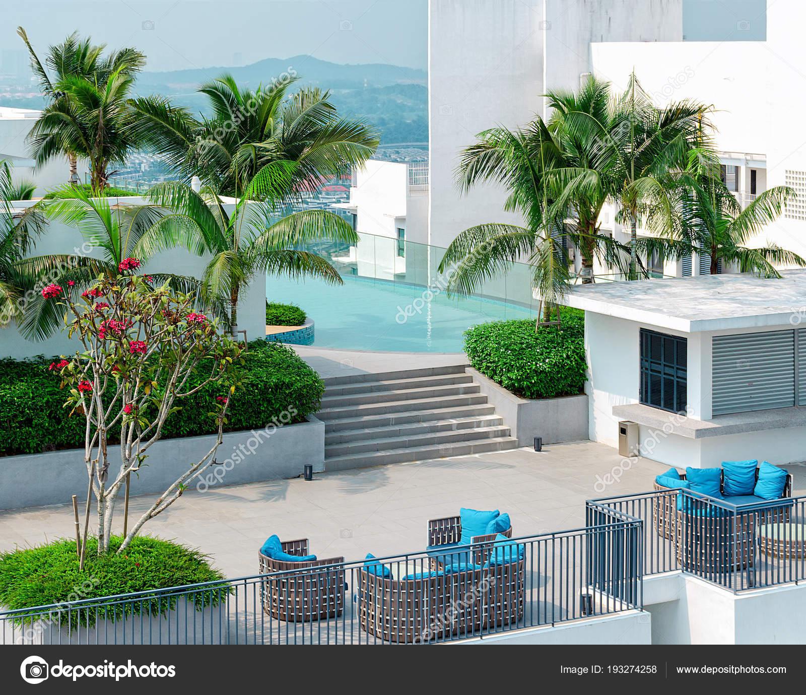 Concepto Unas Vacaciones Exóticas Ideal Vista Superior Hermosa ...