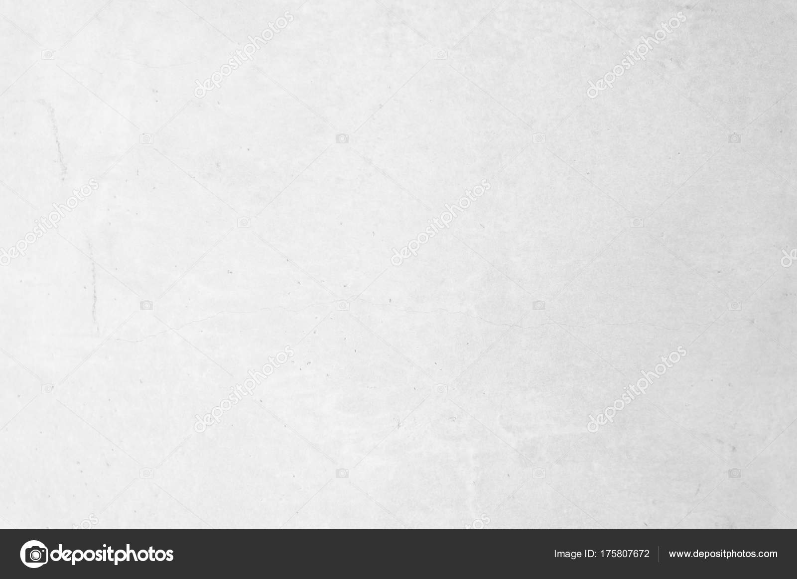 Old White Raw Concrete Wall Texture Background Suitable For Pres Stock Photo