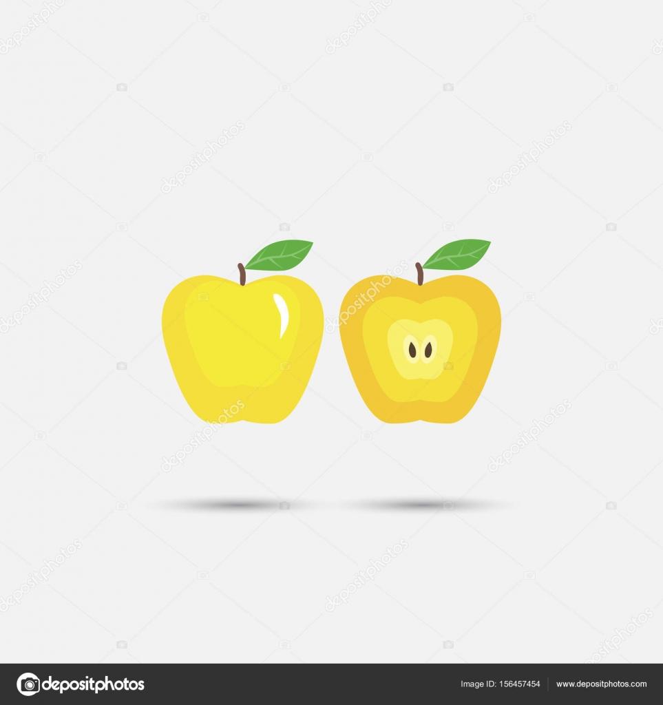 Hermoso color manzana — Vector de stock © serega85art #156457454