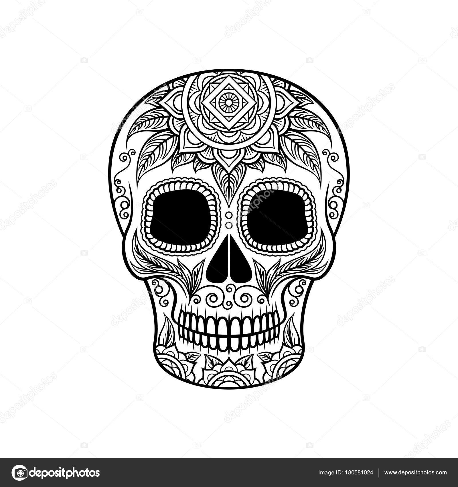 Imágenes Cabezas De Calaveras De Dia De Muertos Calavera De
