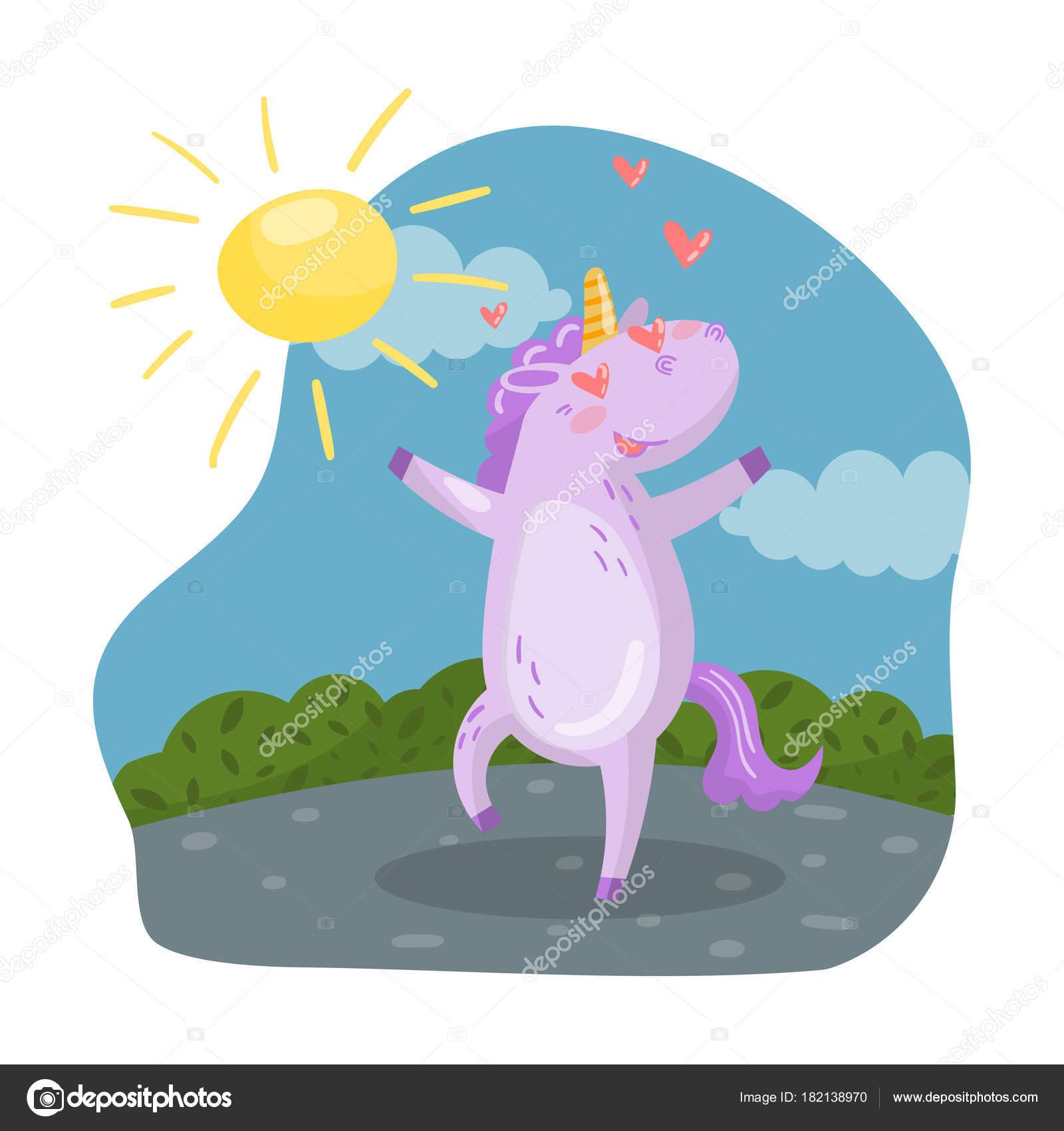 夏の日愛のベクトル イラスト漫画のスタイルで楽しんでその目で心で恋