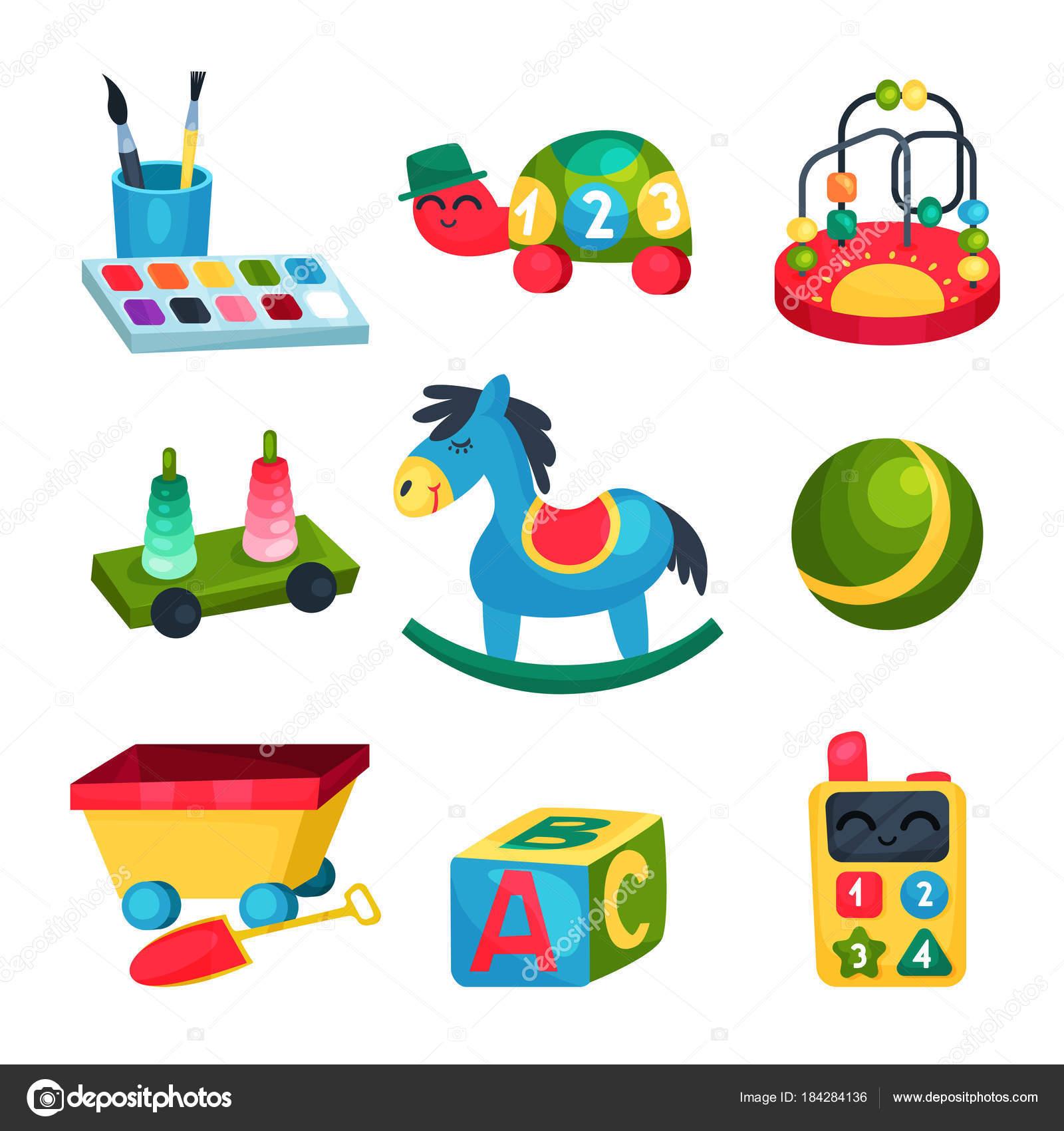 sammlung von verschiedenen s kinderspielzeug ball