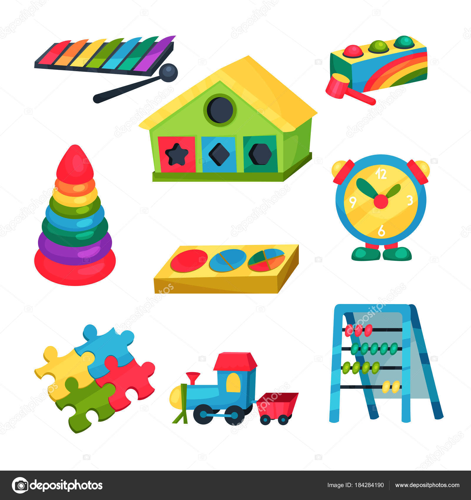 пирамида детский сад игрушки