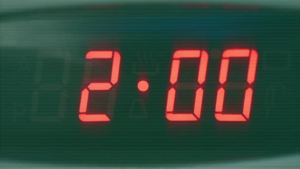 klocka med belysning