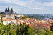 Úžasný panoramatický pohled na Staré Město pražské