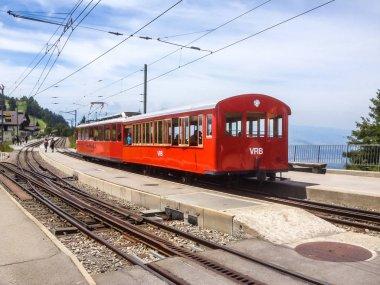 Rigi Railways, the highest standard gauge railway in Europe: Standard gauge rack railways, the Vitznau Rigi Bahn (VRB).