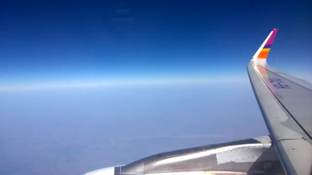 bangkok, thailand 20. januar 2017: thai smile airline fly in the sky at bangkok, thailand
