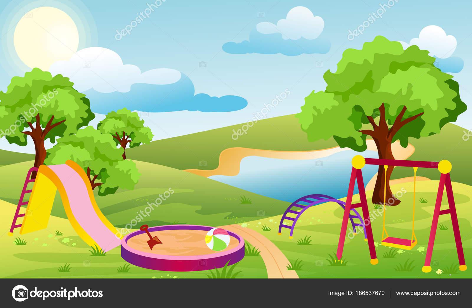 cartoon playground background idealvistalistco