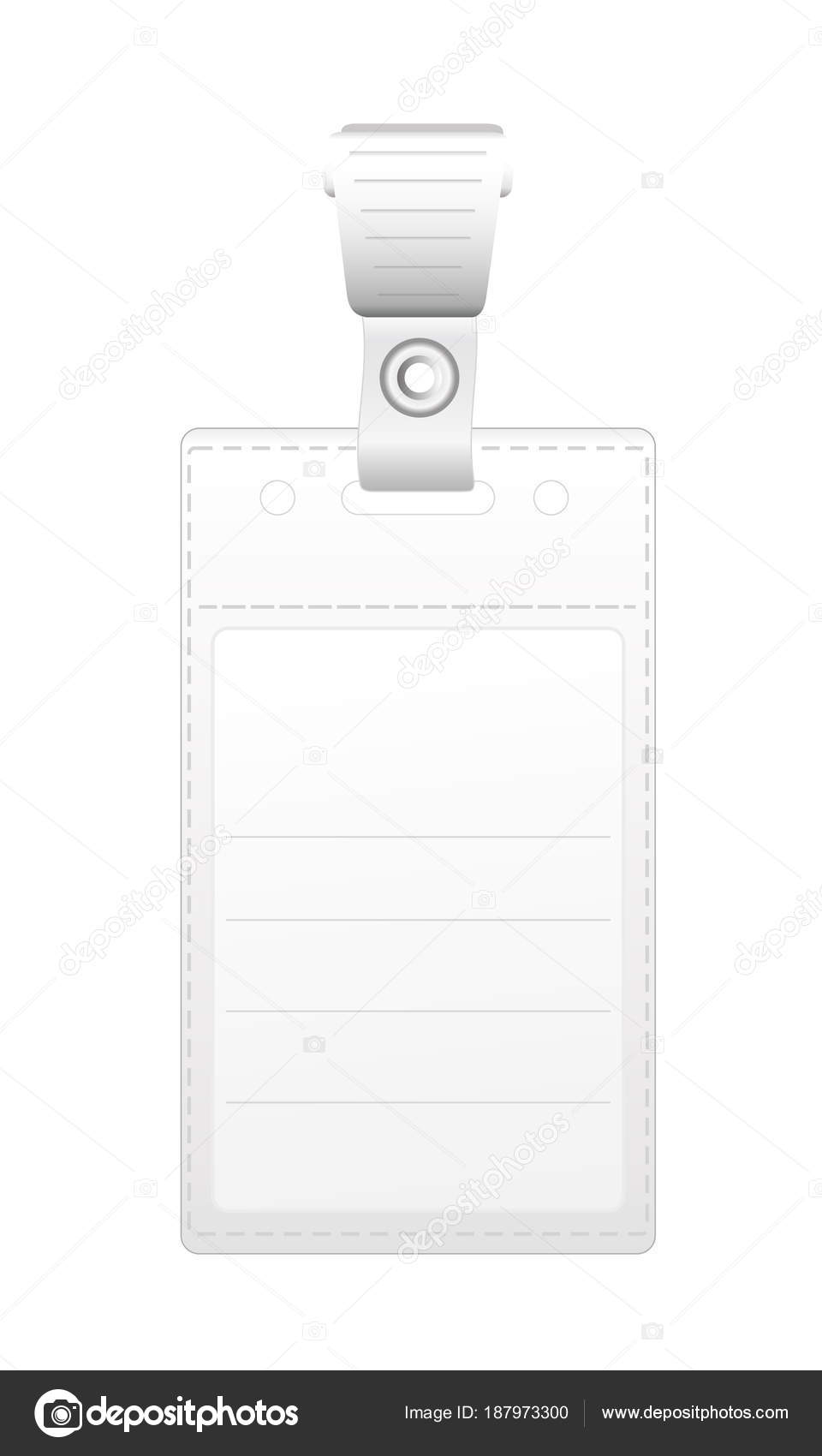 personal id card template