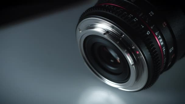 Technology Dolly Shot of Camera Lenses