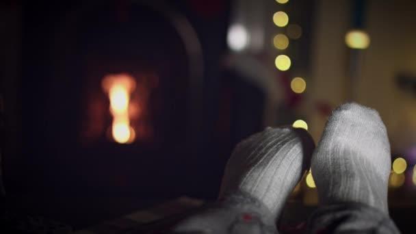 rodina na relaxační Vánoce