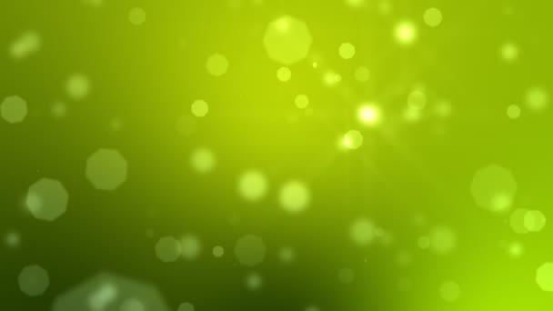 Pohyblivé částice Loop zelená