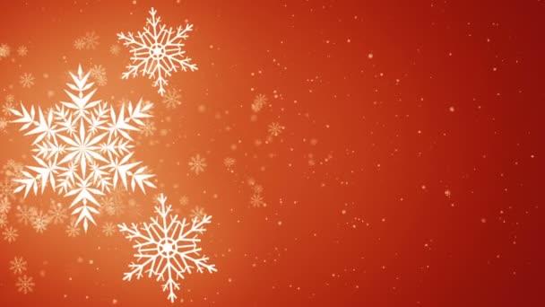 Szép hópelyhek - téli háttér. Varrat nélküli hurok