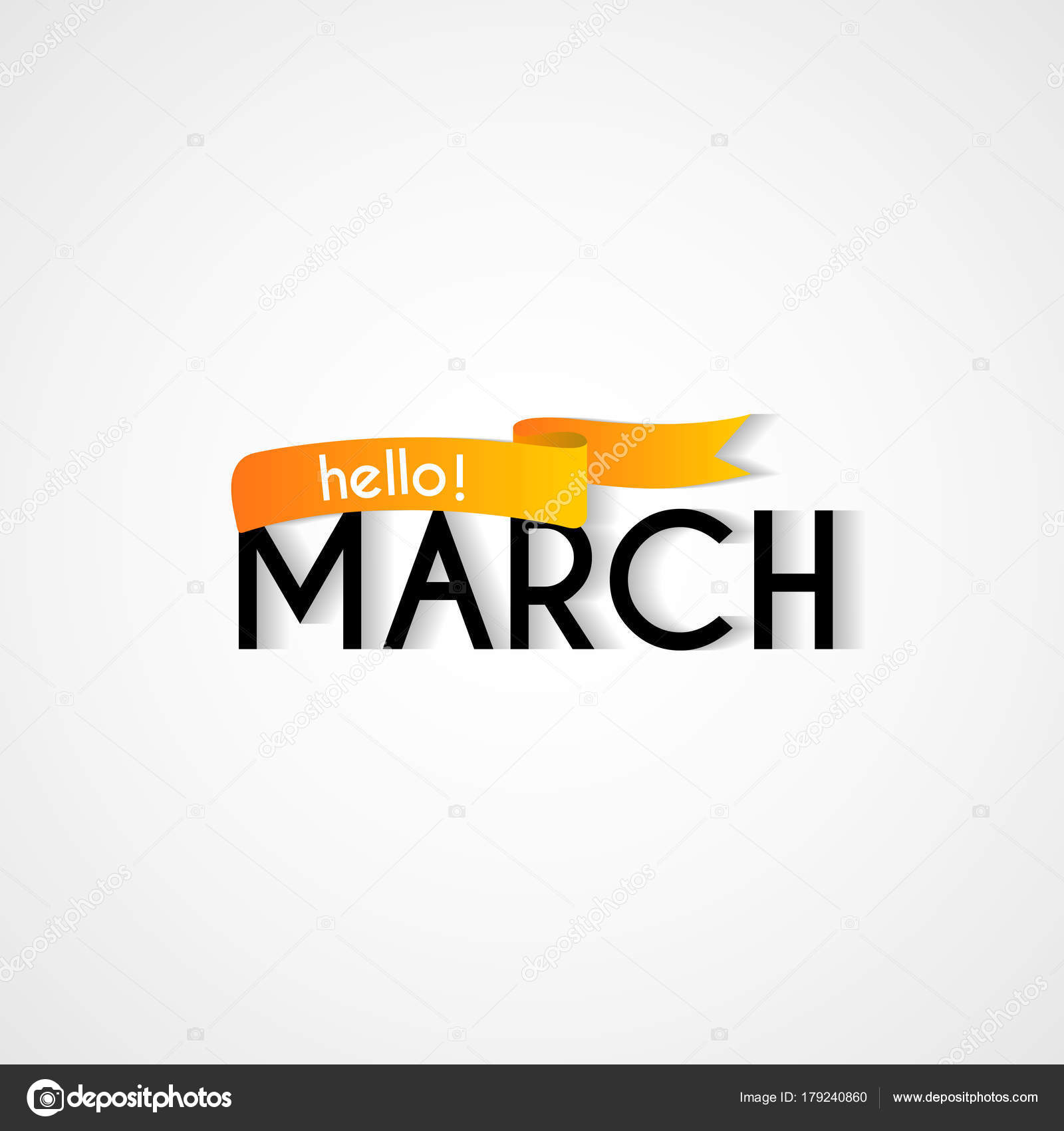 Happy new month march background design stock vector motokiwo happy new month march background design stock vector m4hsunfo