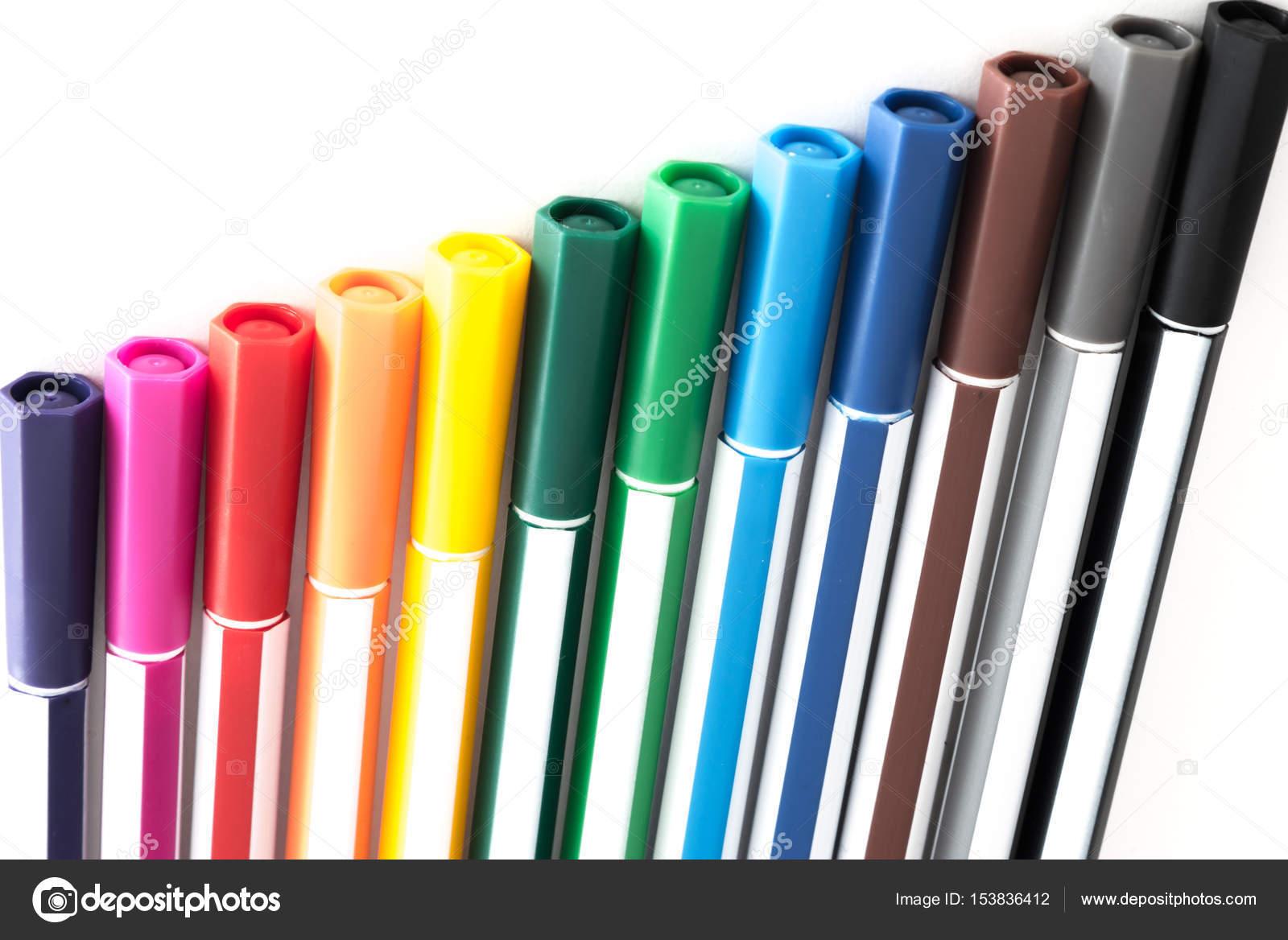 penna med flera färger