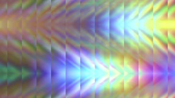 Abstraktní rozmazané pozadí s duhovými liniemi