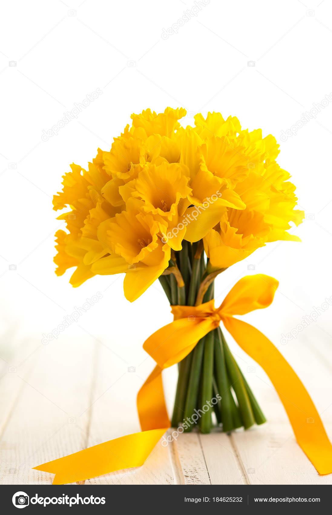 Fotos Narcisos Amarillos Ramo De Pascua De Narcisos Amarillos - Narcisos-amarillos