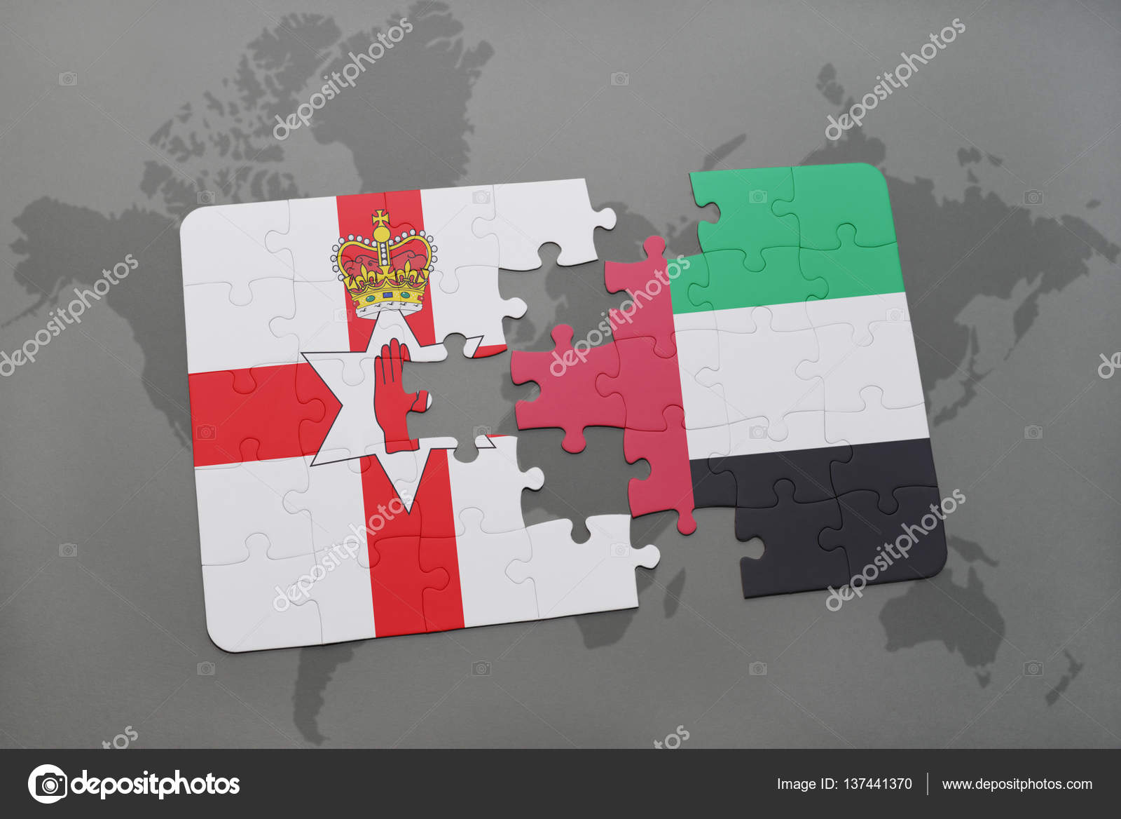 Puzzle with the national flag of northern ireland and united ... on map of gibraltar, map of southern ireland, map of county mayo, map of austria, map of israel, map of united kingdom, map of scotland, map of england, map of belfast, map of wales, map of ireland counties, map of afghanistan, map of europe, map of ballybofey, map of dublin, map of giant's causeway, map of uk, map of ireland map, map of ulster, map of us and ireland,