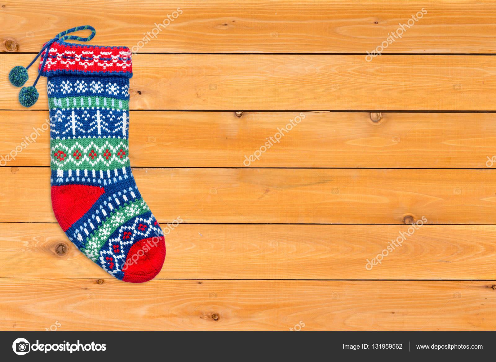 Solo media lana color brillantes de la Navidad — Fotos de Stock ...