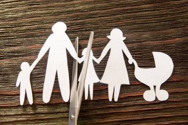 The disintegration of the family. Divorce. Section children.