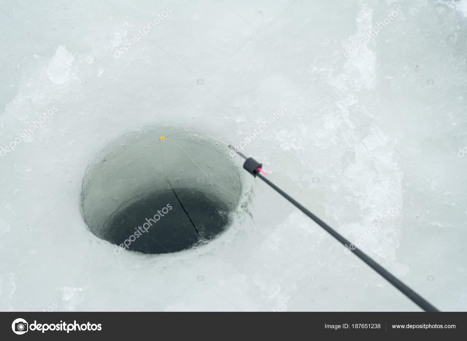 Fishing rod for winter fishing 57