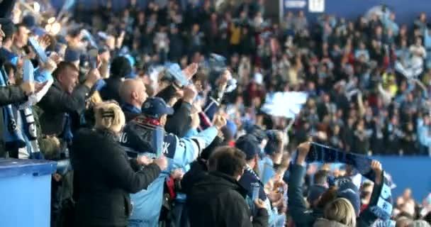 People scream win score sport hockey fan closeup expressive fun shouting crowd.