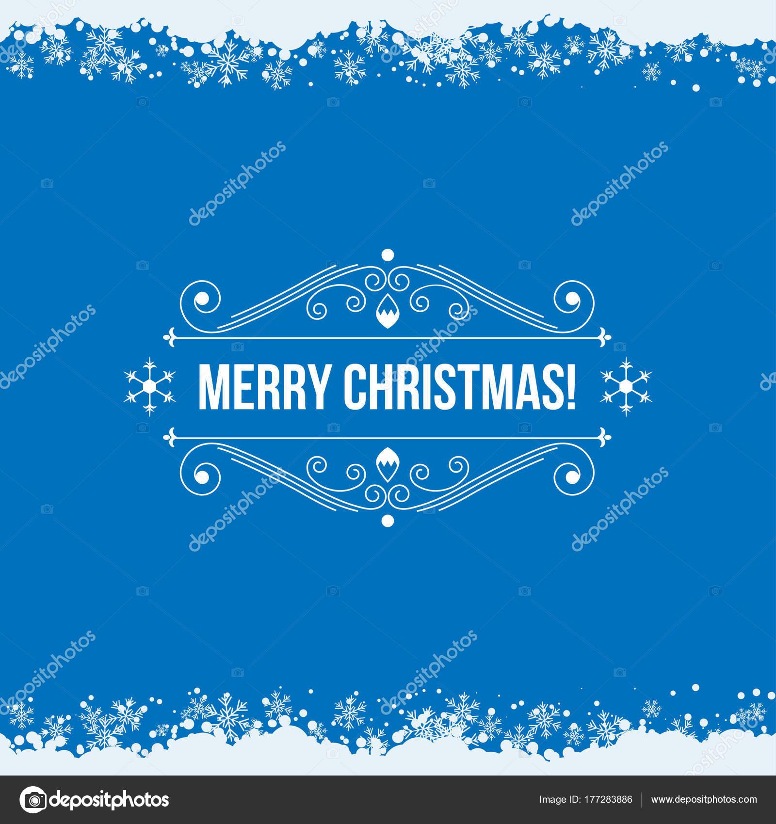 Christmas Greeting Card Printing Websites Vector Illustration ...