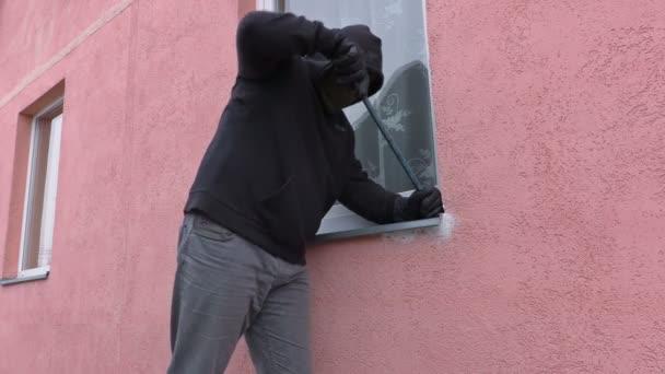 Lupič s páčidlem okna
