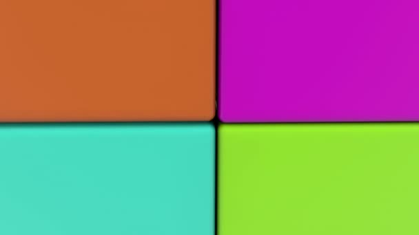 Pyramid of toy bricks