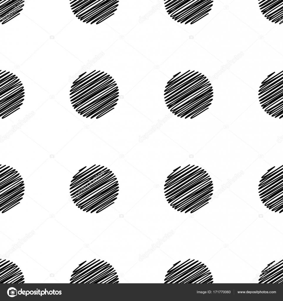 Punkt, abstrakt, Kreis, nahtlose, Hintergrund, Mode, Deckel, Dekor ...