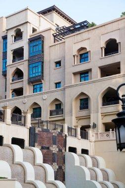 DUBAI, UAE - FEBRUARY 2018: Souk al Bahar hotel and shopping mal